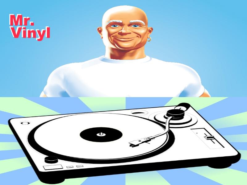 Mr Vinyl logo
